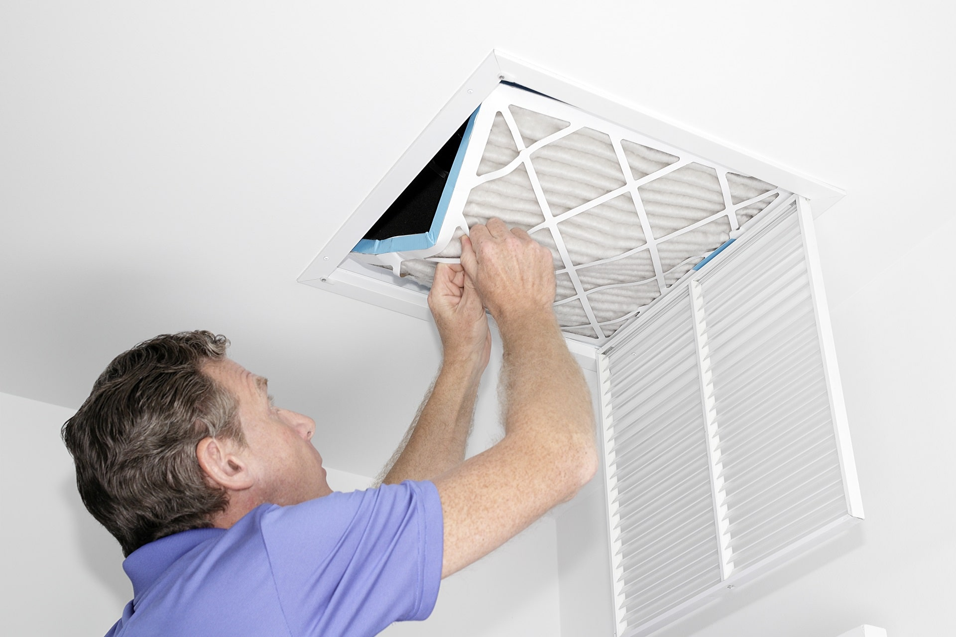 DIY duct cleaning