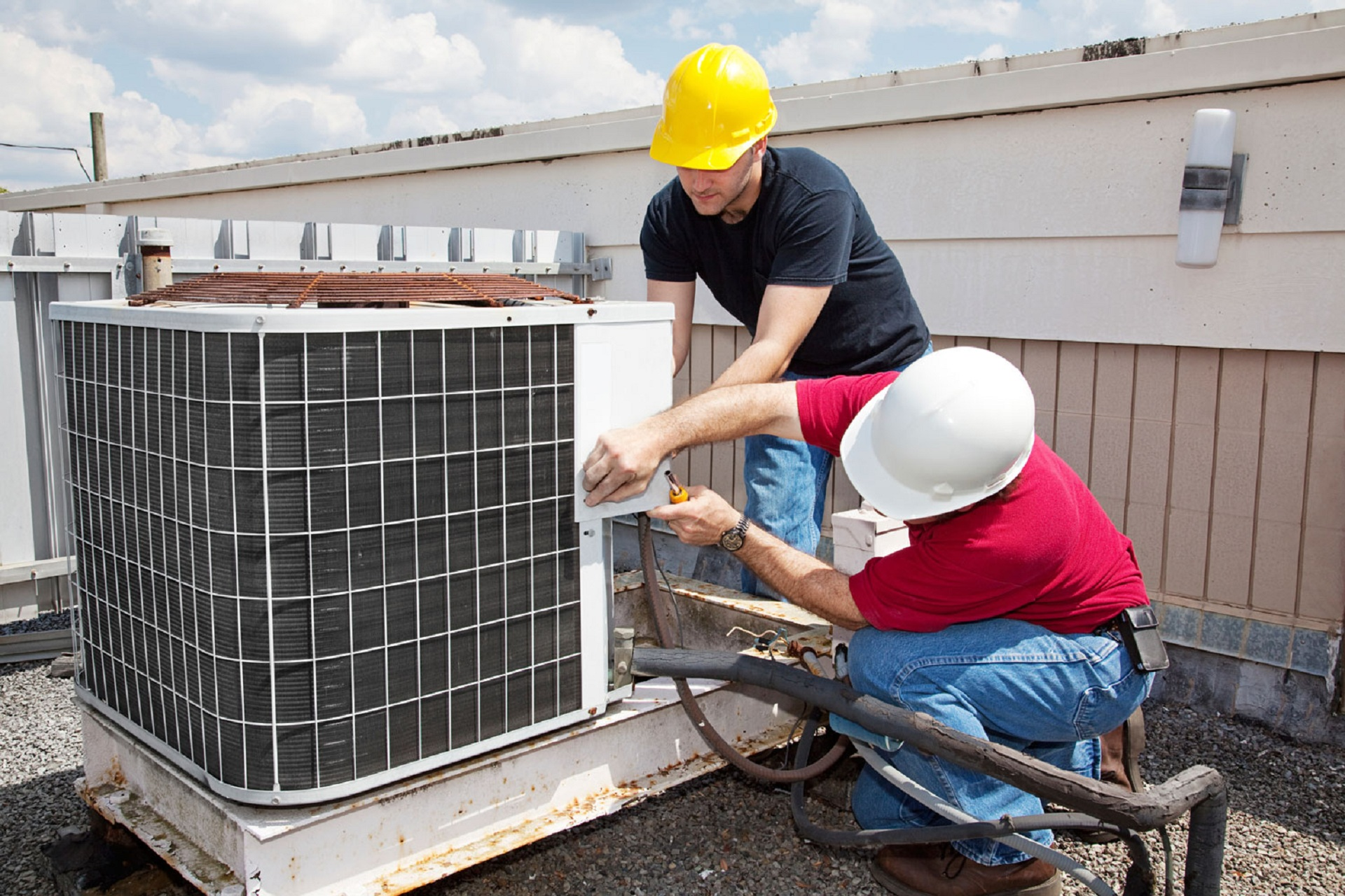 Rheem air conditioning system