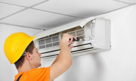 repair or replace HVAC equipment